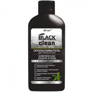 Black Clean - Płyn do płukania ust BELLITA 7832
