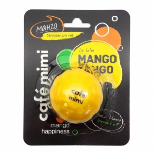 Balsam do ust Mango, 8 ml CAFE MIMI 0503